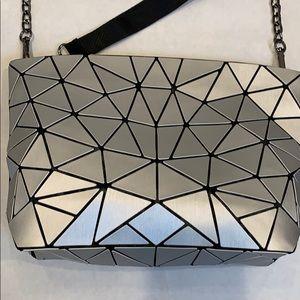 Patricia Luca Matte Geometric Tile Clutch